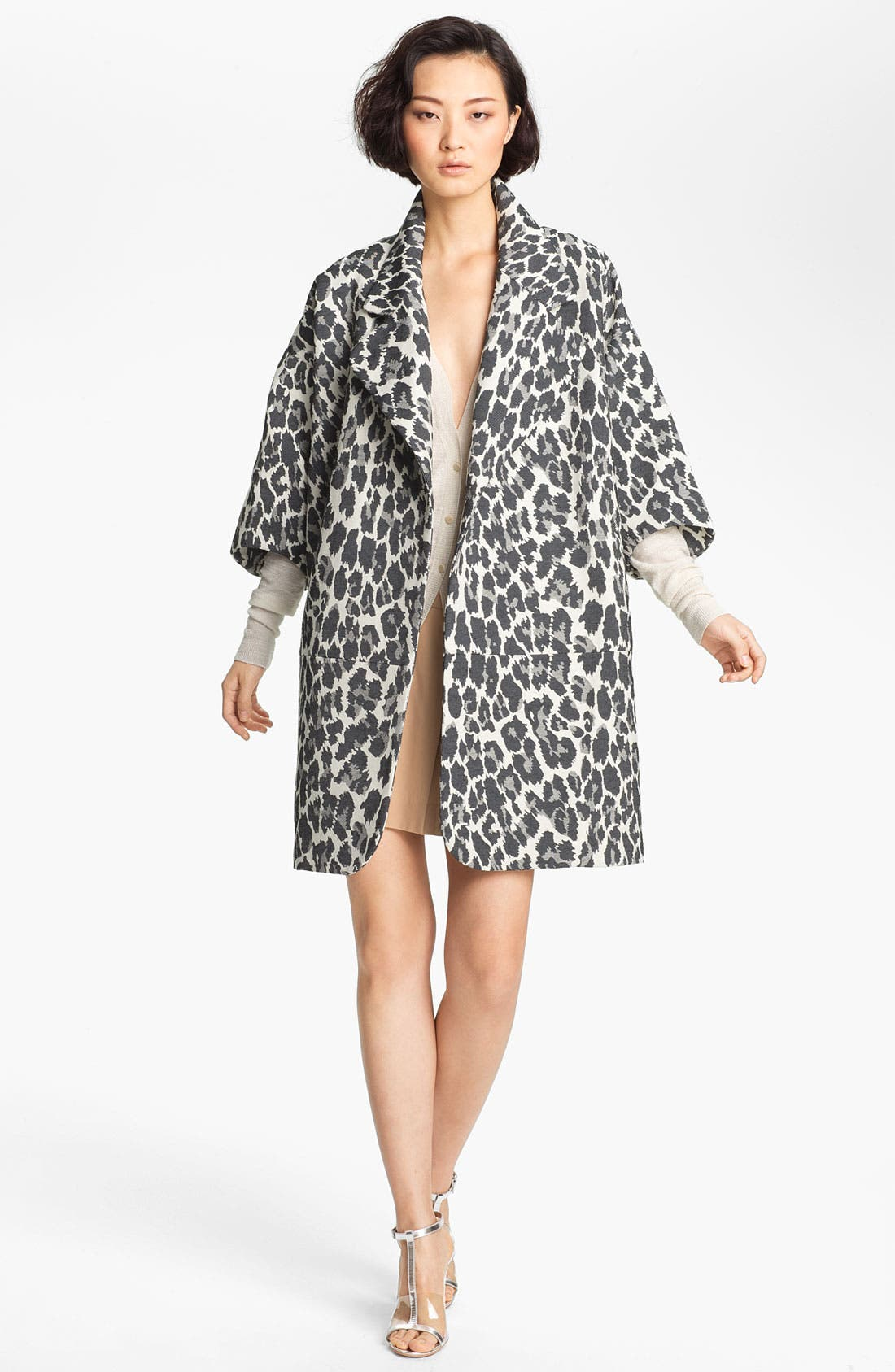 Alternate Image 1 Selected - Tracy Reese Jacquard Coat