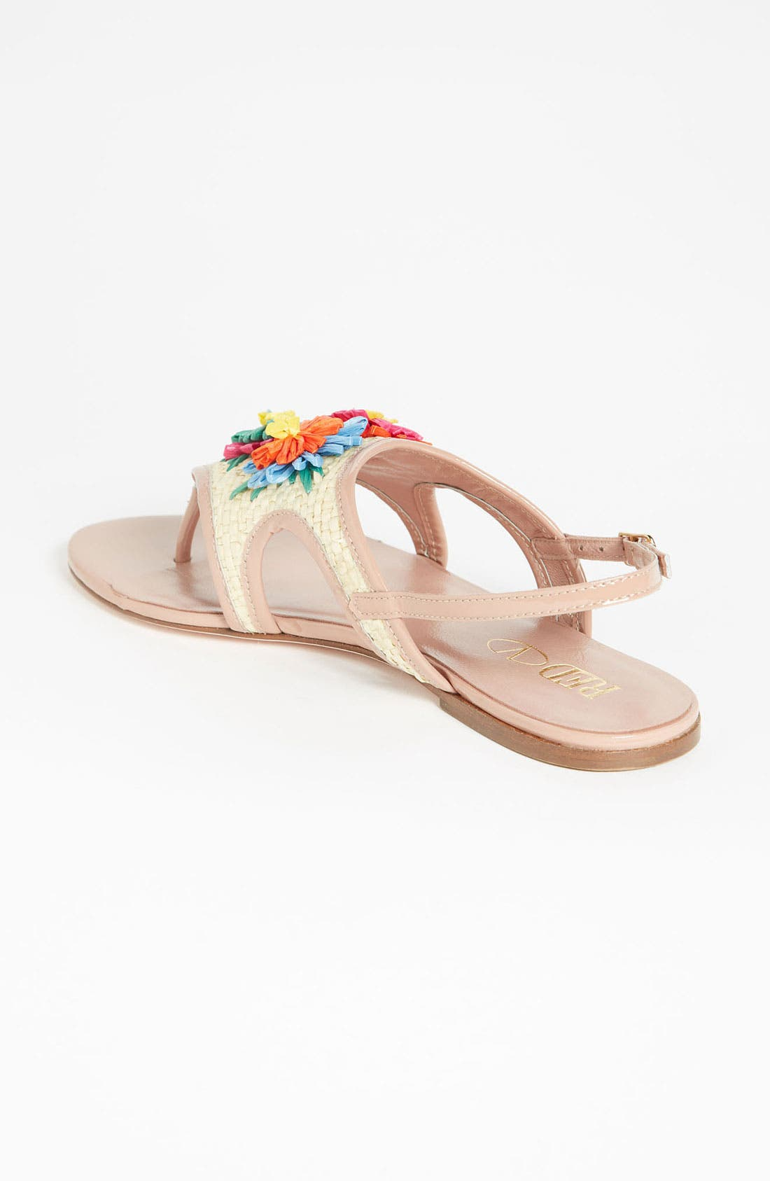 Alternate Image 2  - RED Valentino Embroidered Sandal