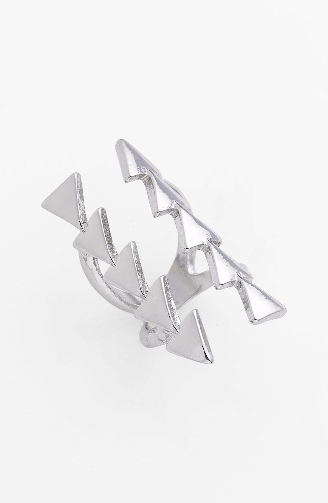 Main Image - Guinevere Open Triangle Ring