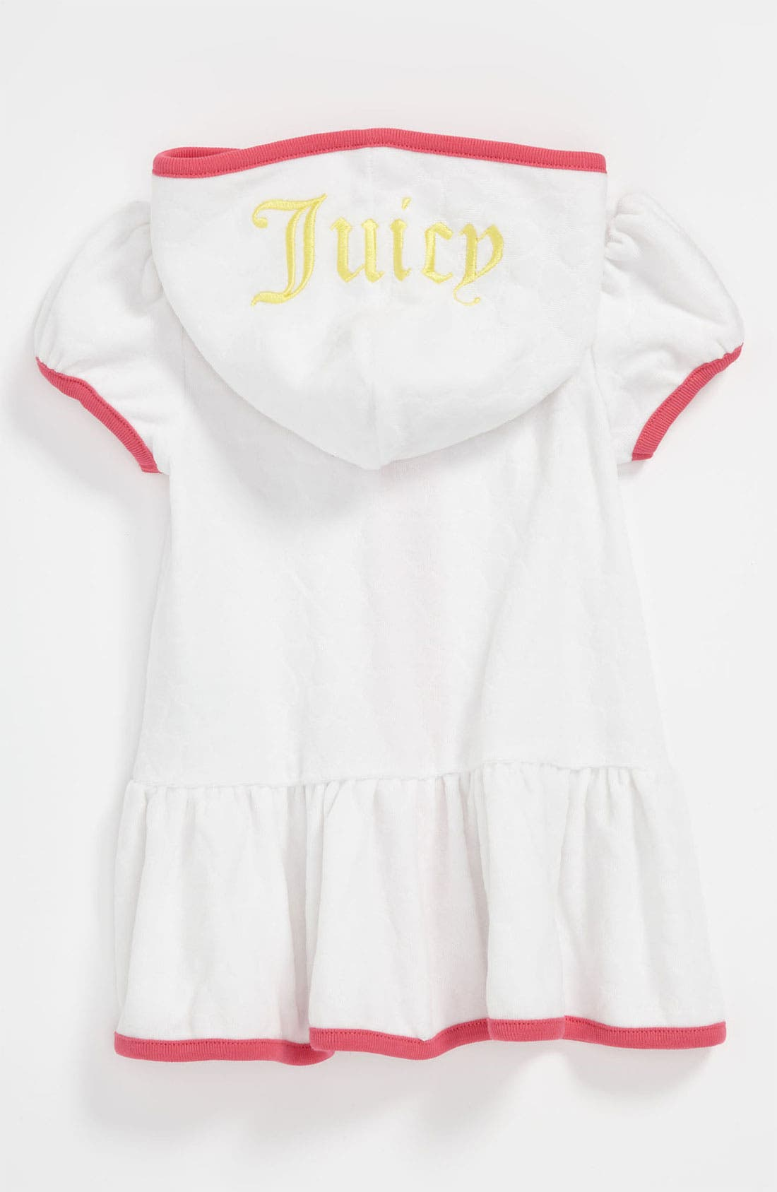 Alternate Image 2  - Juicy Couture Terry Hooded Swim Cover-Up (Infant)