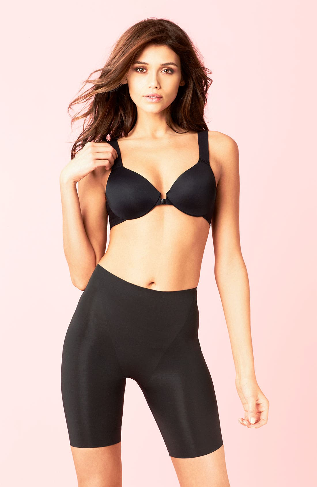 Alternate Image 4  - SPANX® 'Trust Your Thinstincts' Mid Thigh Shaper
