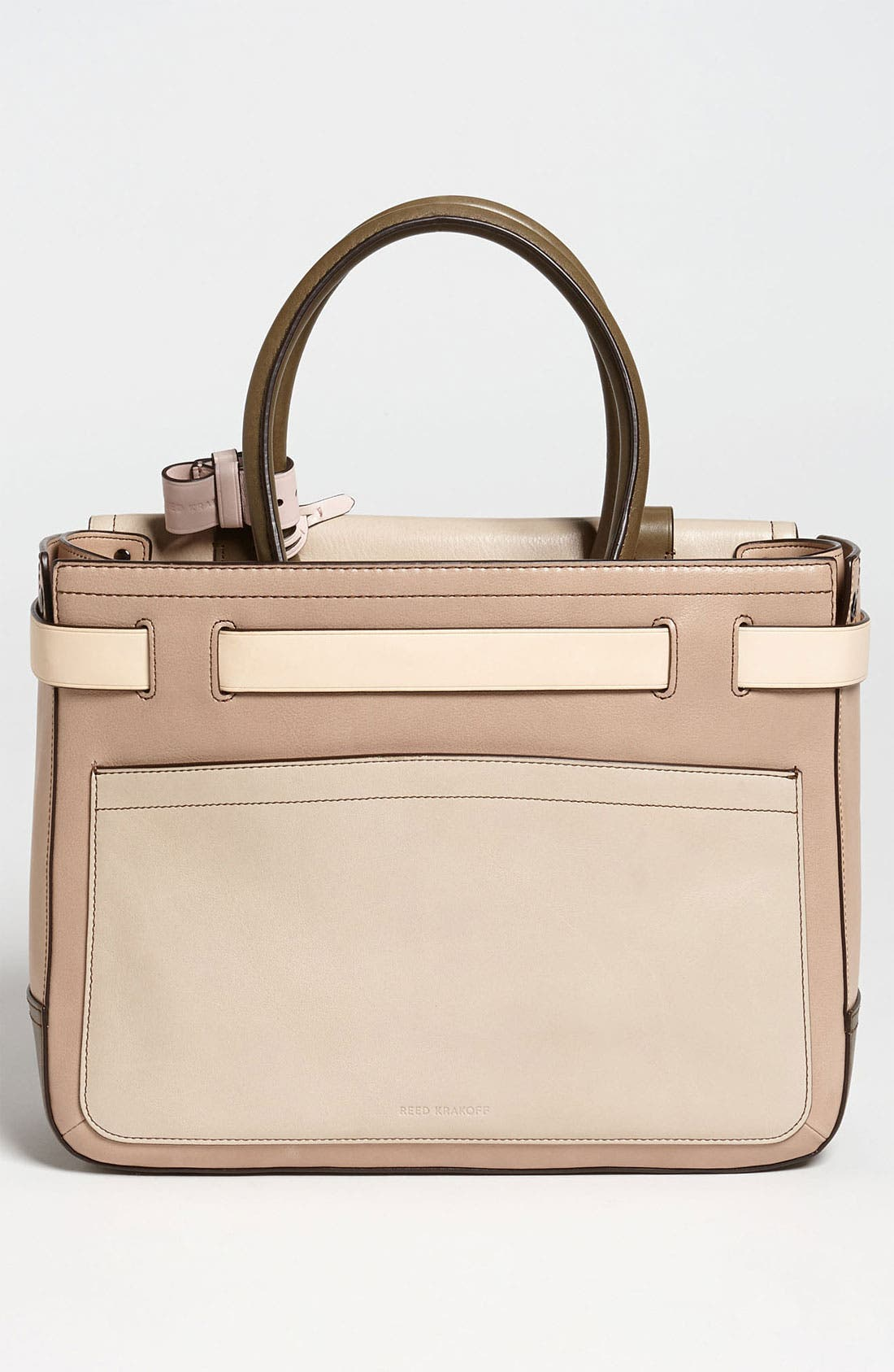 Alternate Image 4  - Reed Krakoff 'Boxer' Colorblocked Leather Satchel