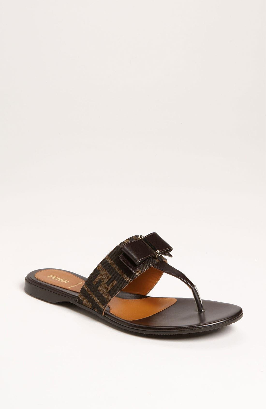 Main Image - Fendi 'Crayons' Sandal