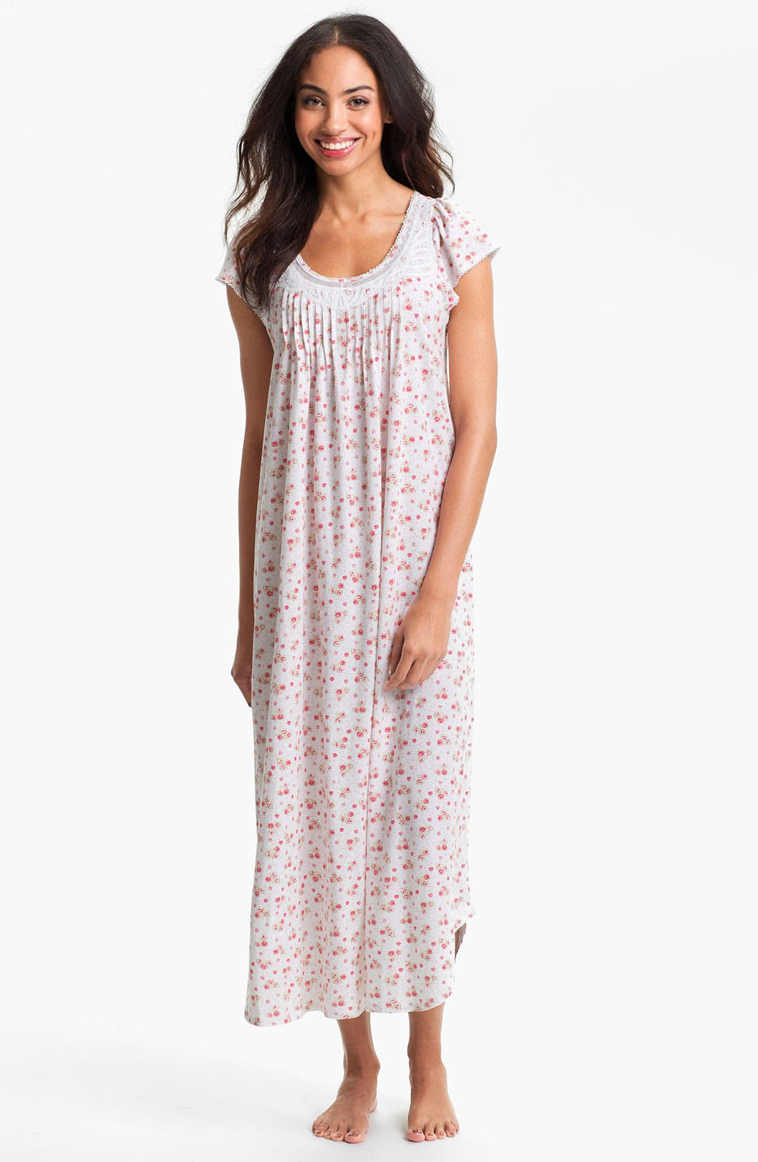 Alternate Image 1 Selected - Carole Hochman Designs 'Rose Cottage' Nightgown