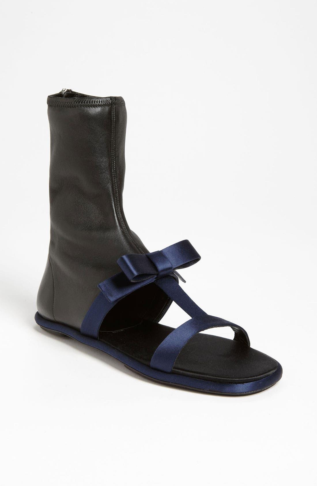 Alternate Image 1 Selected - Prada Stretch Sandal