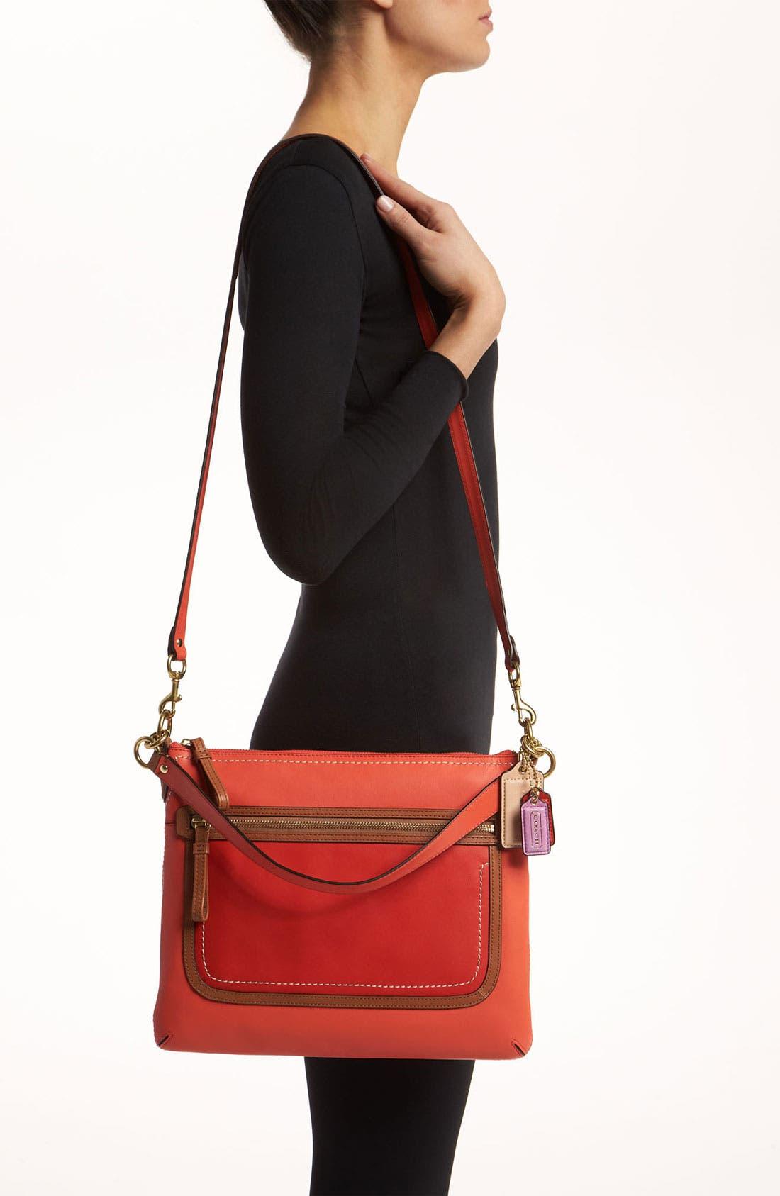 Alternate Image 2  - COACH 'Poppy Colorblock' Shoulder Bag
