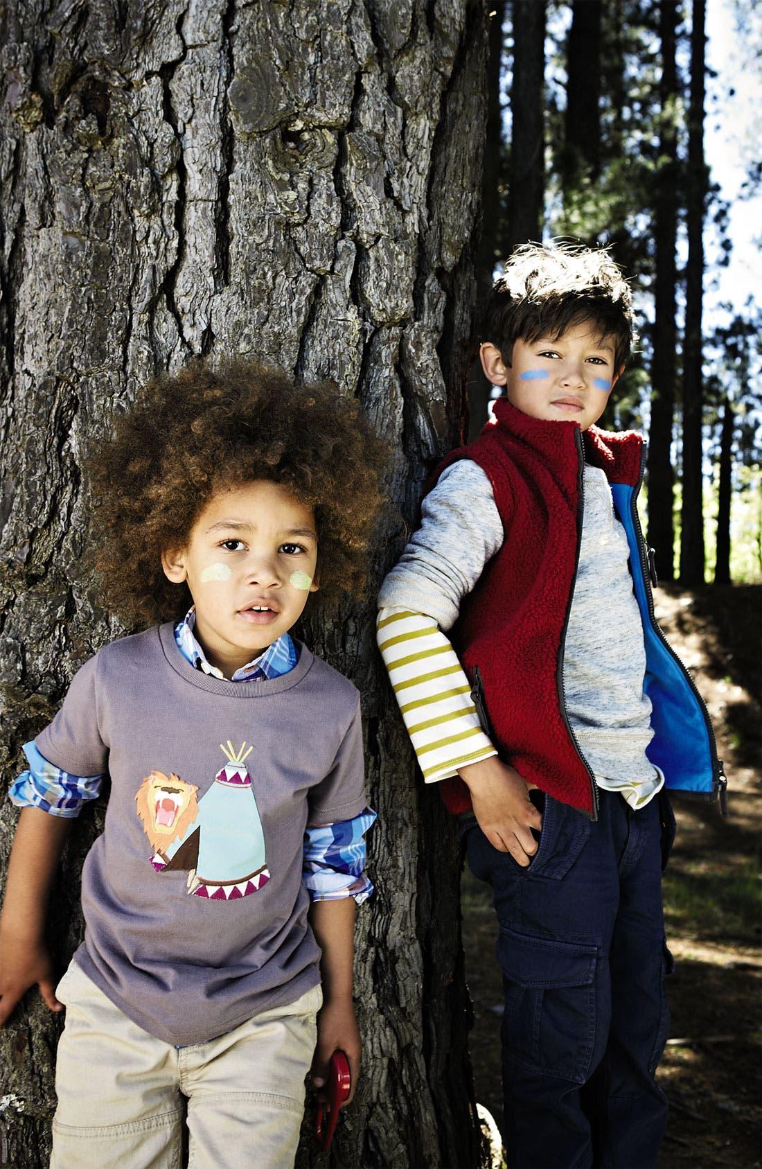 Alternate Image 2  - Mini Boden 'Adventure Appliqué' T-Shirt (Toddler, Little Boys & Big Boys)