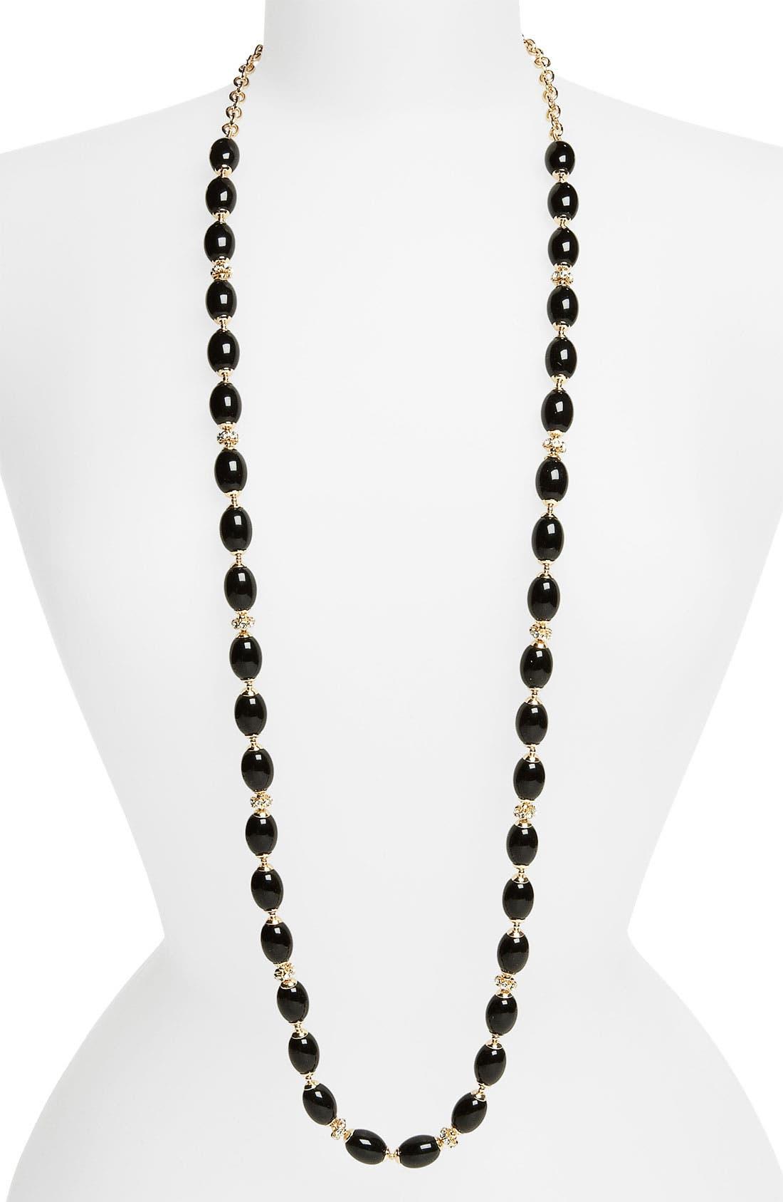 Main Image - Anne Klein 'Alder' Extra Long Bead Necklace