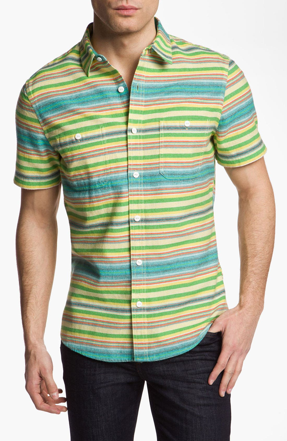 Alternate Image 1 Selected - Public Opinion 'Blanket Stripe' Work Shirt
