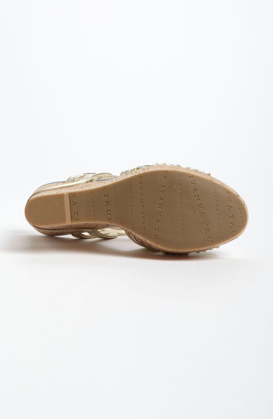 Alternate Image 4  - Ivanka Trump 'Honey' Wedge Sandal