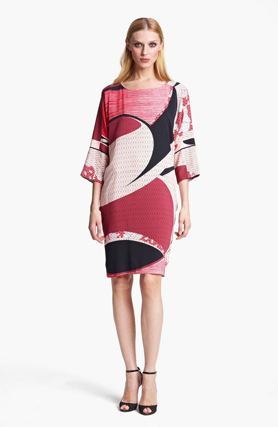 Alternate Image 1 Selected - Emilio Pucci Elisse Print Stretch Silk Dress
