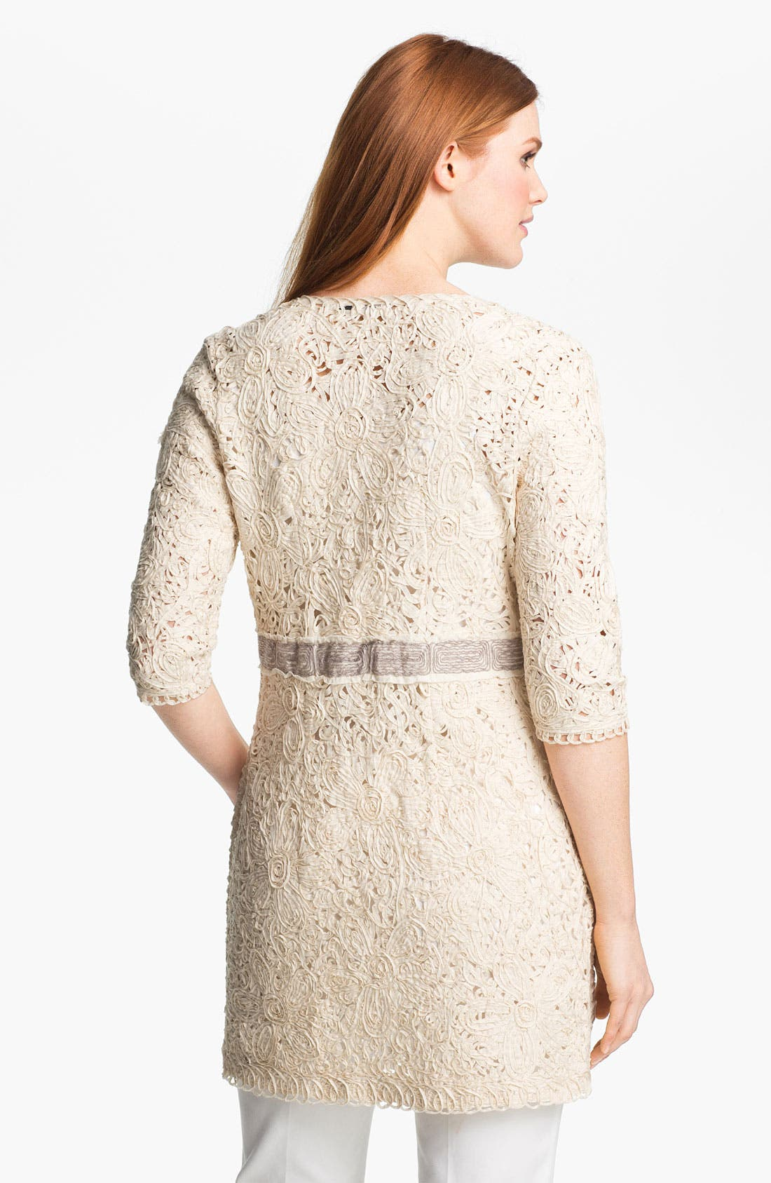 Alternate Image 2  - Nic + Zoe Battenburg Lace Jacket