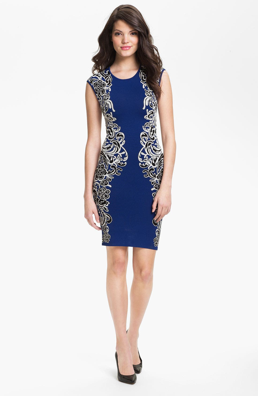 Alternate Image 1 Selected - BCBGMAXAZRIA 'Tapestry' Sheath Dress