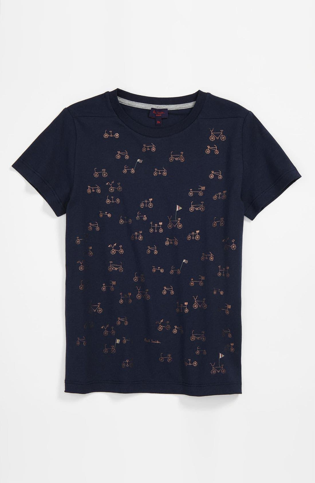 Main Image - Paul Smith Junior 'Dundee' Screenprint T-Shirt (Little Boys & Big Boys)