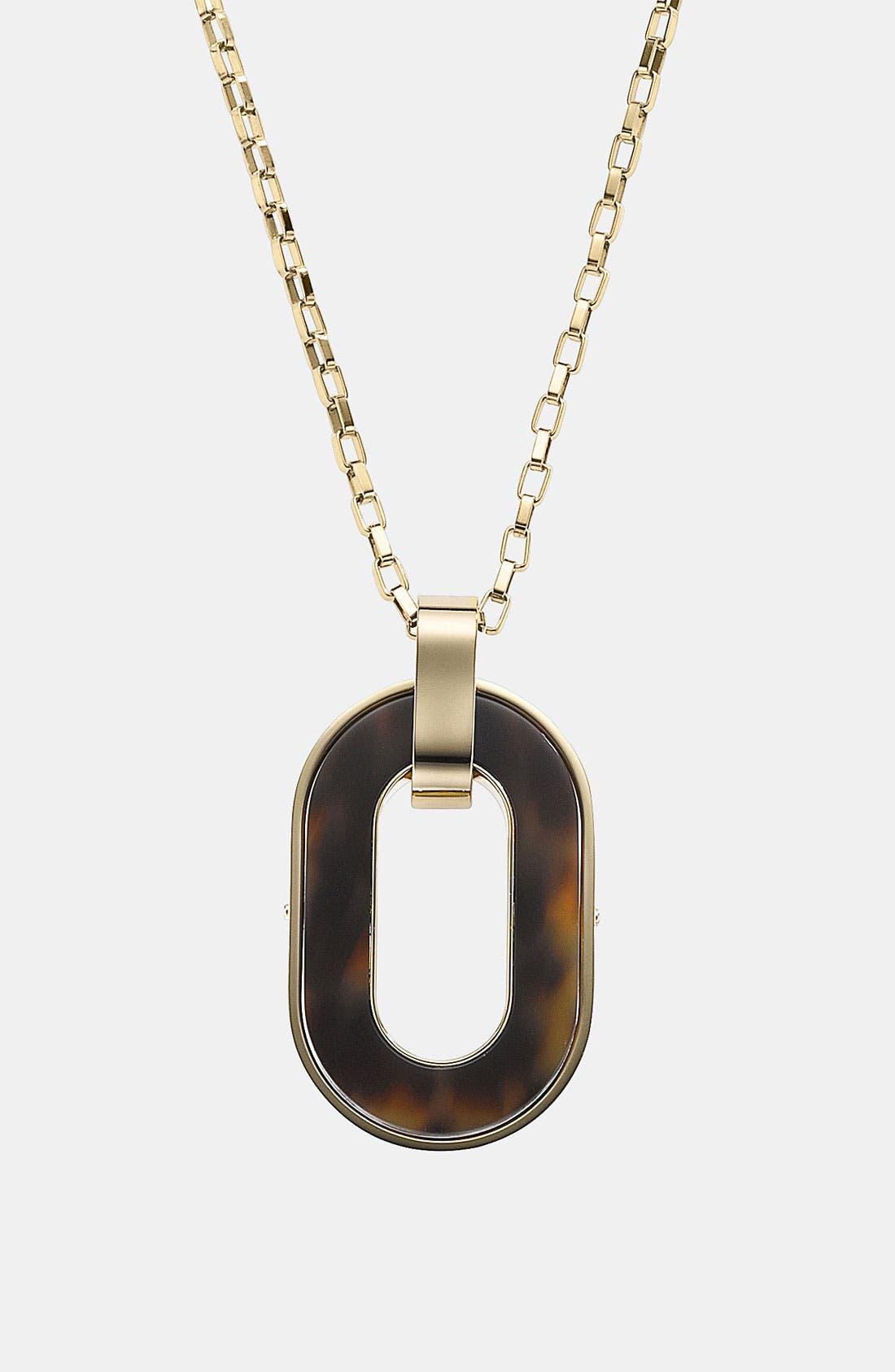 Alternate Image 3  - Michael Kors 'Jet Set' Long Pendant Necklace