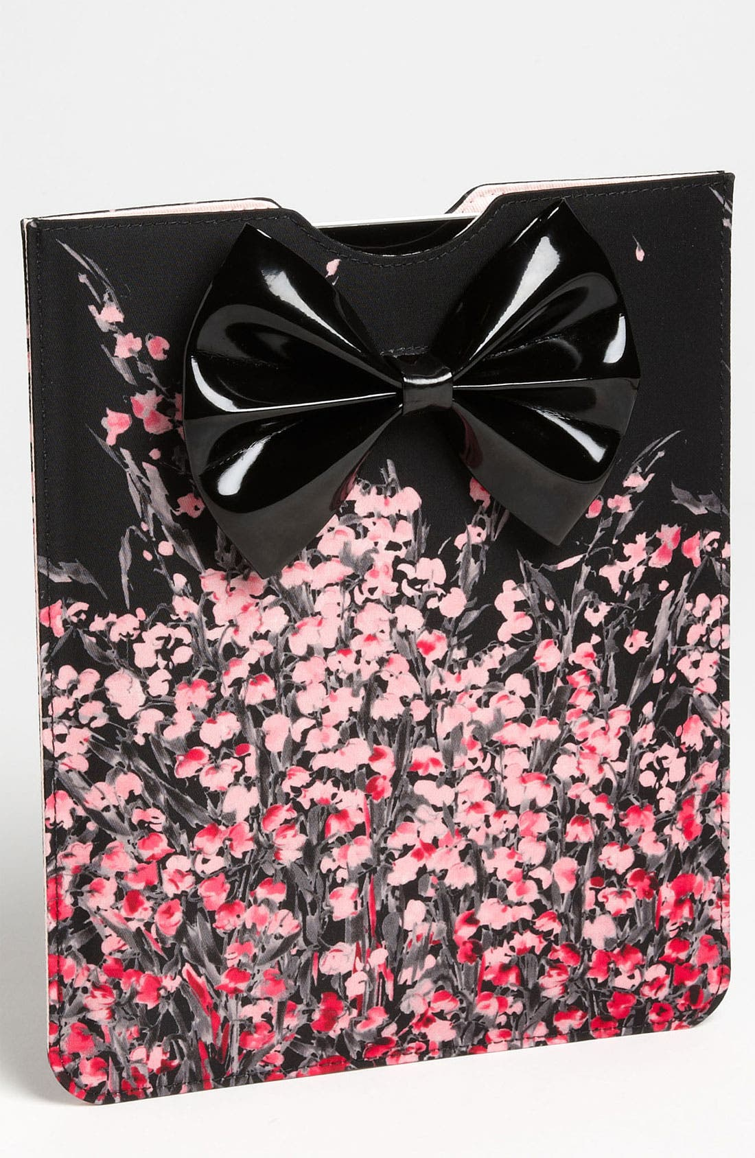 Main Image - RED Valentino 'Bow - Lily of the Valley' Print iPad Case