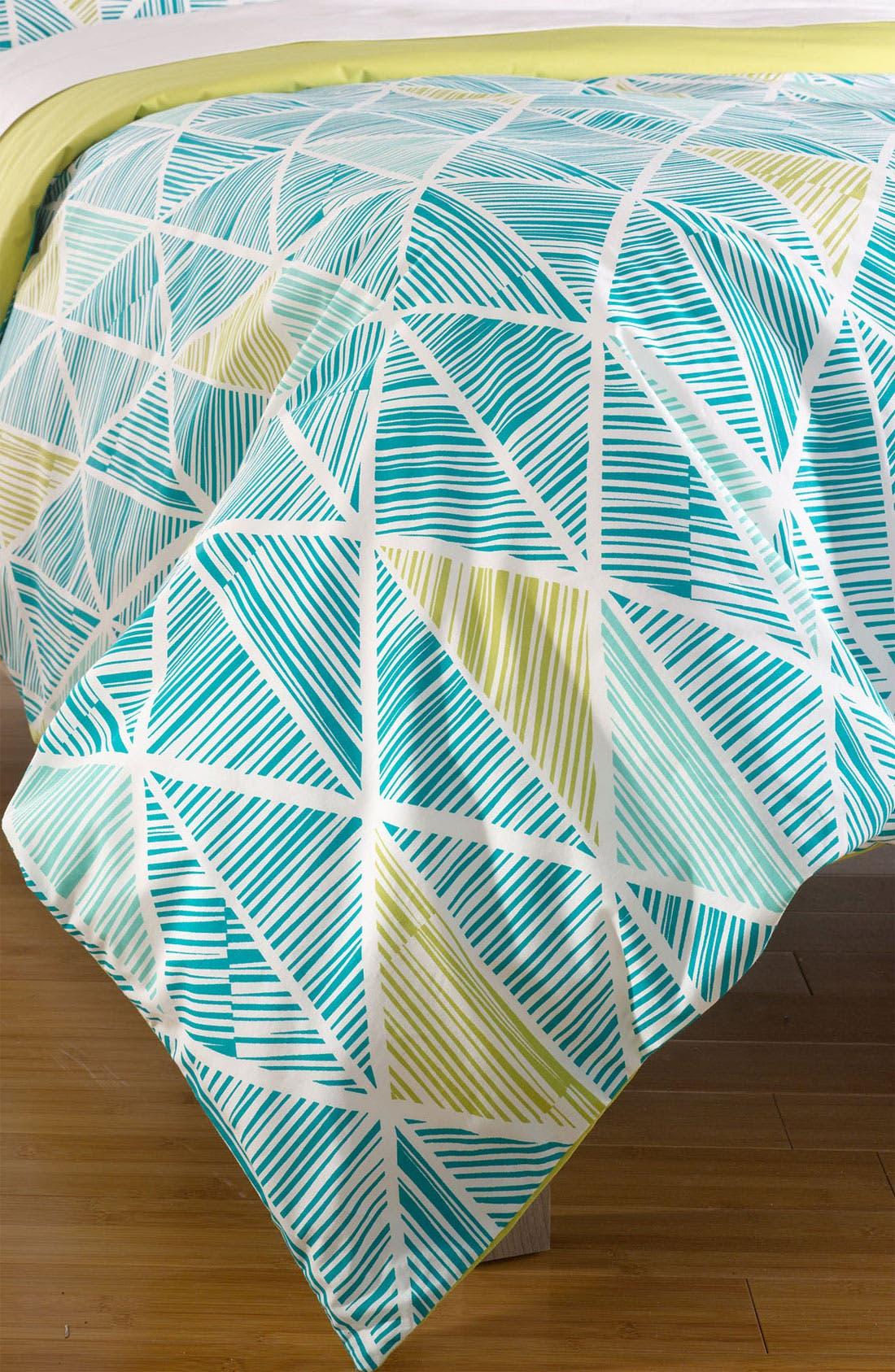 Alternate Image 1 Selected - Nordstrom at Home 'Matchstick Diamond' Duvet Cover