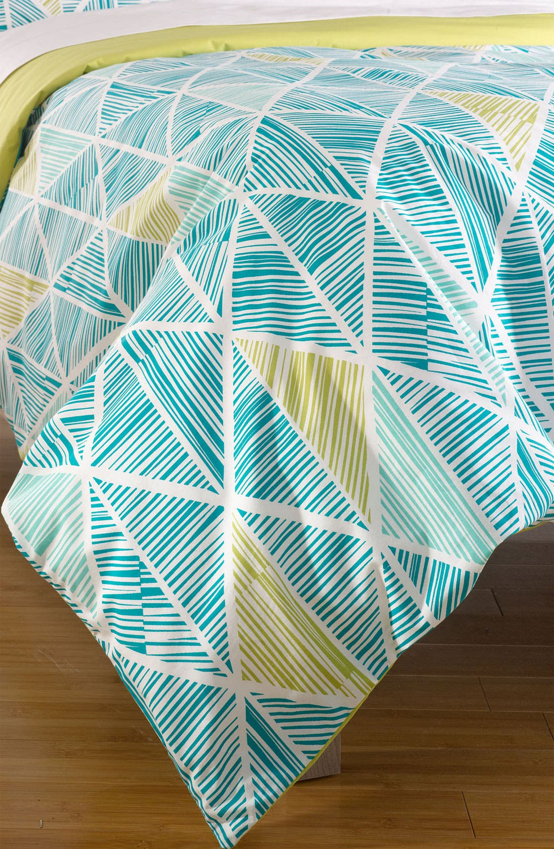 Main Image - Nordstrom at Home 'Matchstick Diamond' Duvet Cover