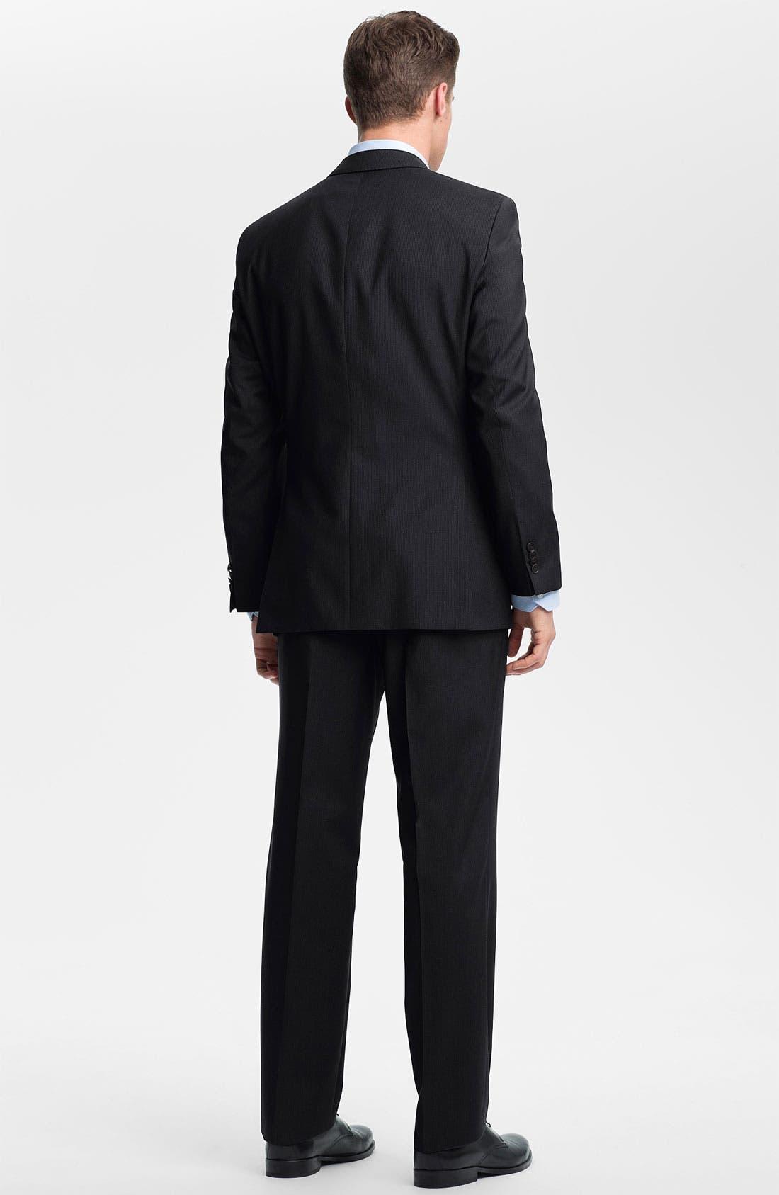 Alternate Image 3  - BOSS Black 'Edison/Power' Wool Suit