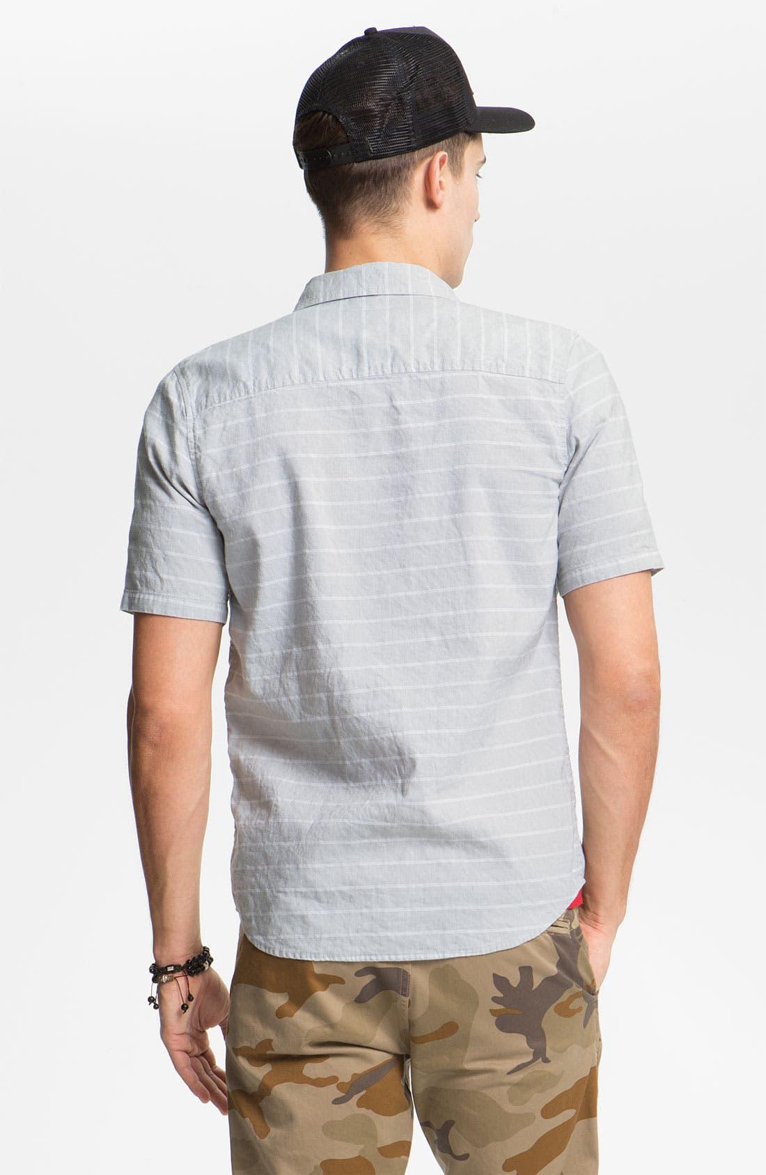 Alternate Image 2  - VSTR 'Border' Stripe Woven Shirt