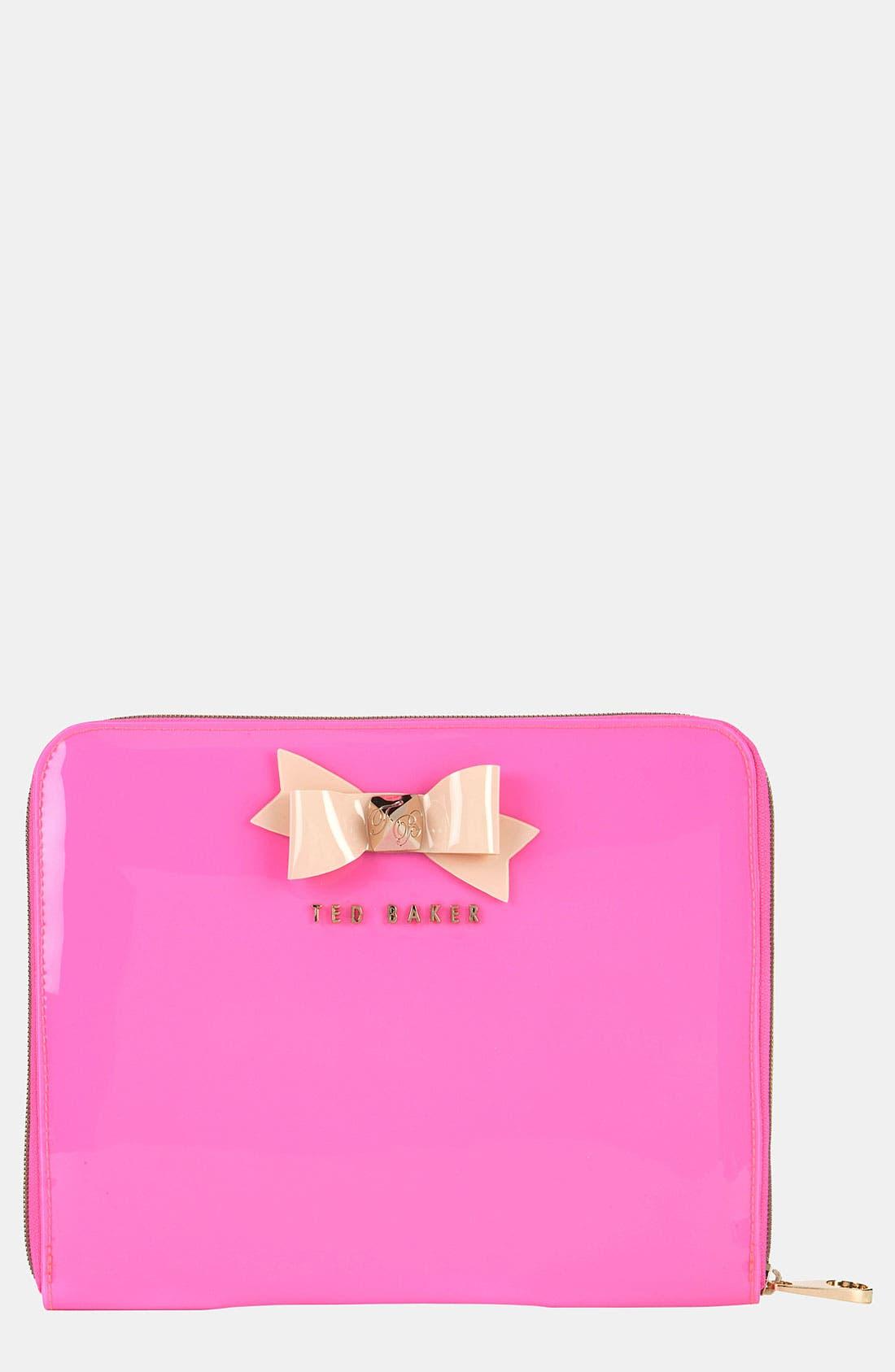 Main Image - Ted Baker London 'Bow' iPad Case