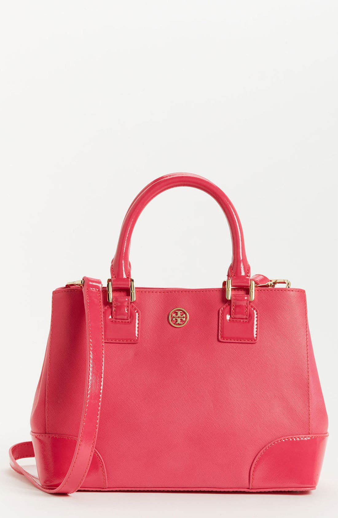Alternate Image 1 Selected - Tory Burch 'Robinson - Mini' Leather Tote