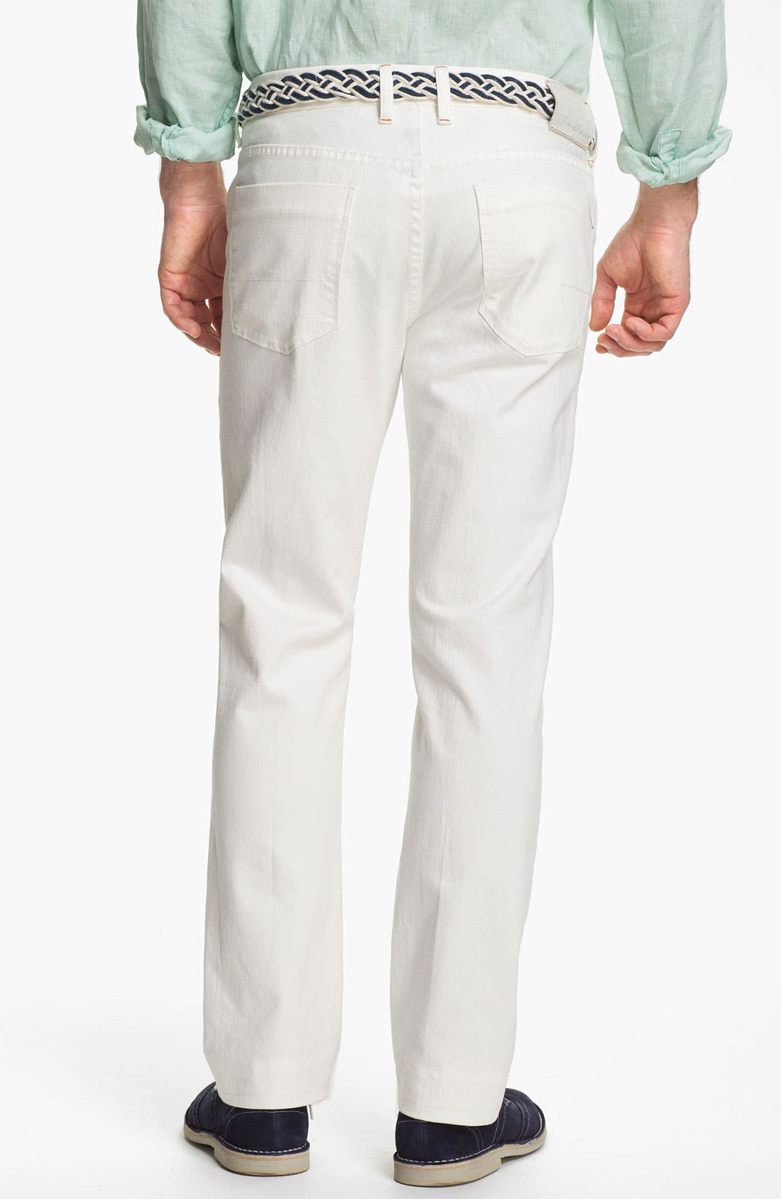 Alternate Image 2  - Tommy Bahama Denim Authentic Fit Jeans (White)