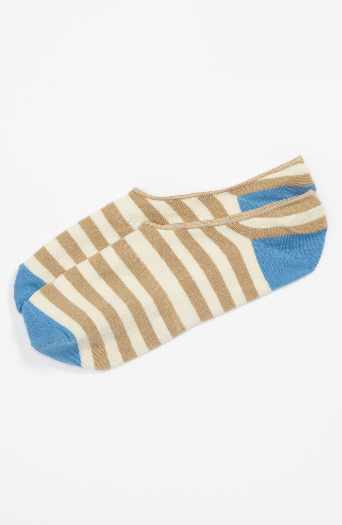 Alternate Image 1 Selected - Lorenzo Uomo No-Show Socks (Men)