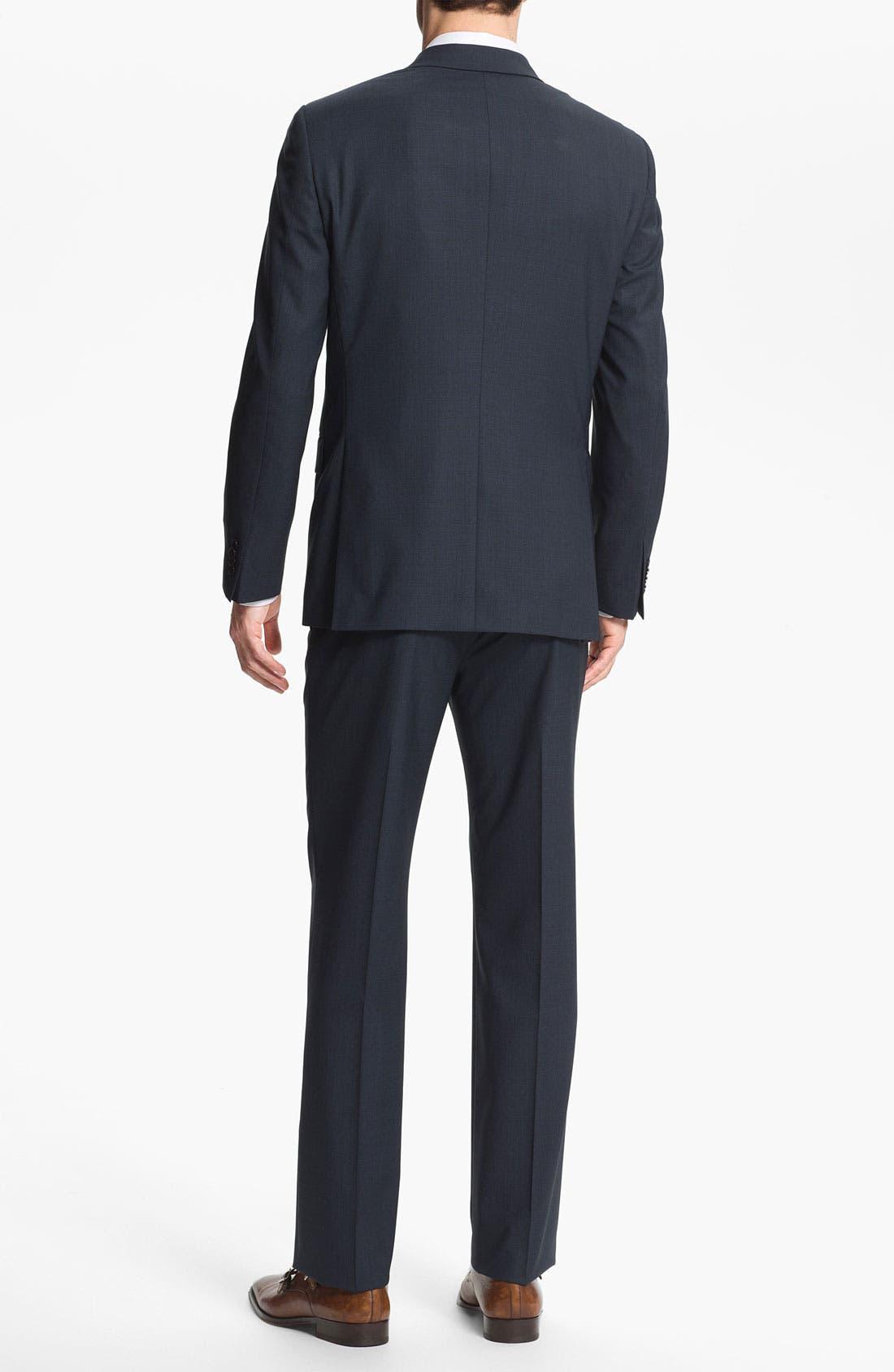 Alternate Image 3  - John Varvatos Star USA 'Filmore' Trim Fit Wool Suit