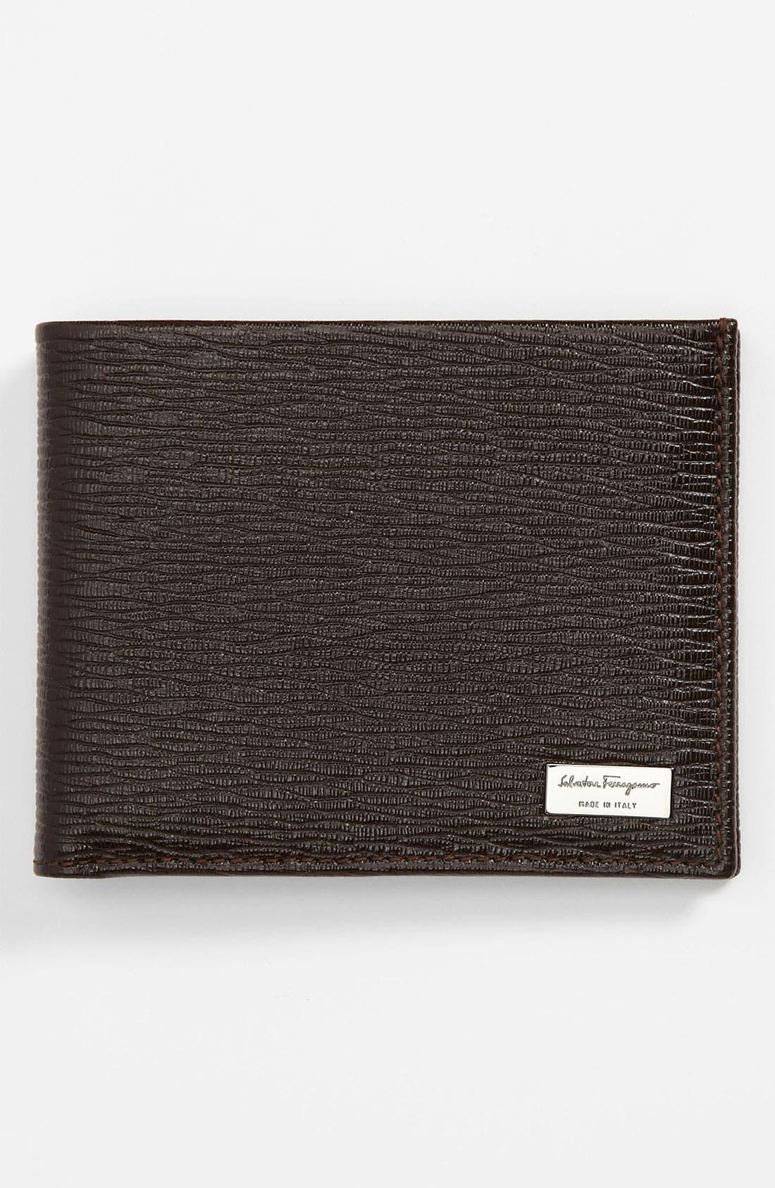 Main Image - Salvatore Ferragamo 'Revival' Bifold Wallet
