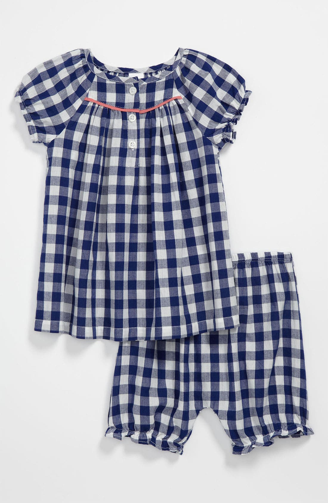 Alternate Image 1 Selected - Nordstrom Baby Blouse & Bloomers (Baby Girls)
