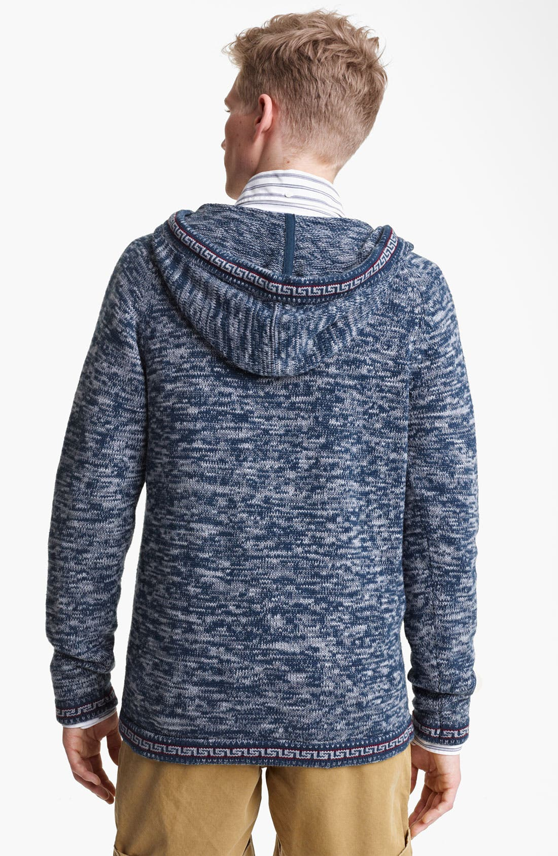 Alternate Image 2  - Gant by Michael Bastian Peruvian Knit Hoodie