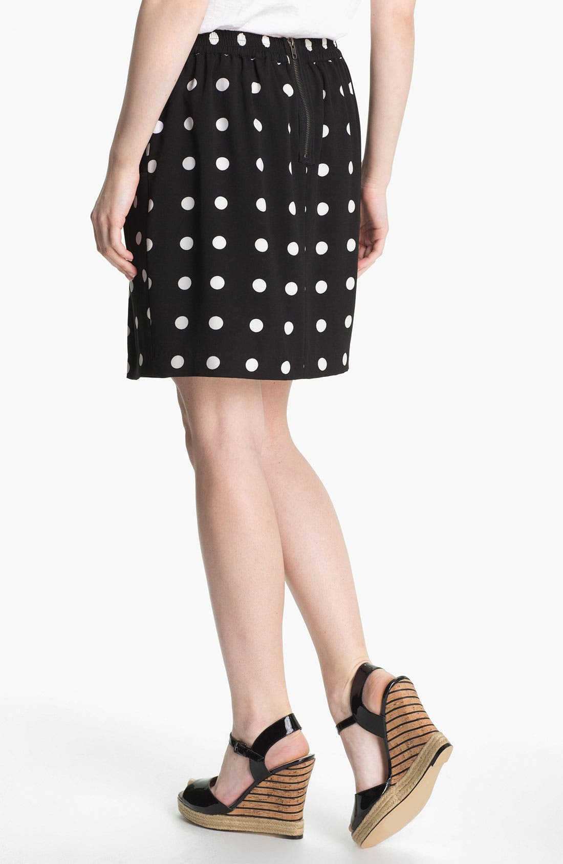 Alternate Image 2  - Halogen®  Blazer & Skirt, Caslon® Tee
