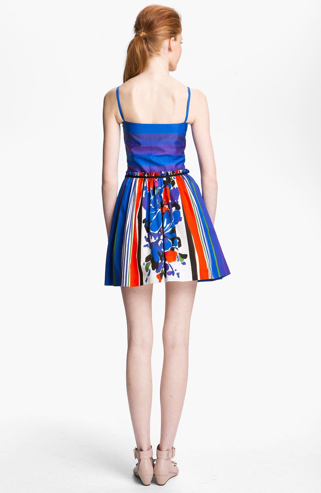 Alternate Image 2  - RED Valentino Multi Print Cotton Dress