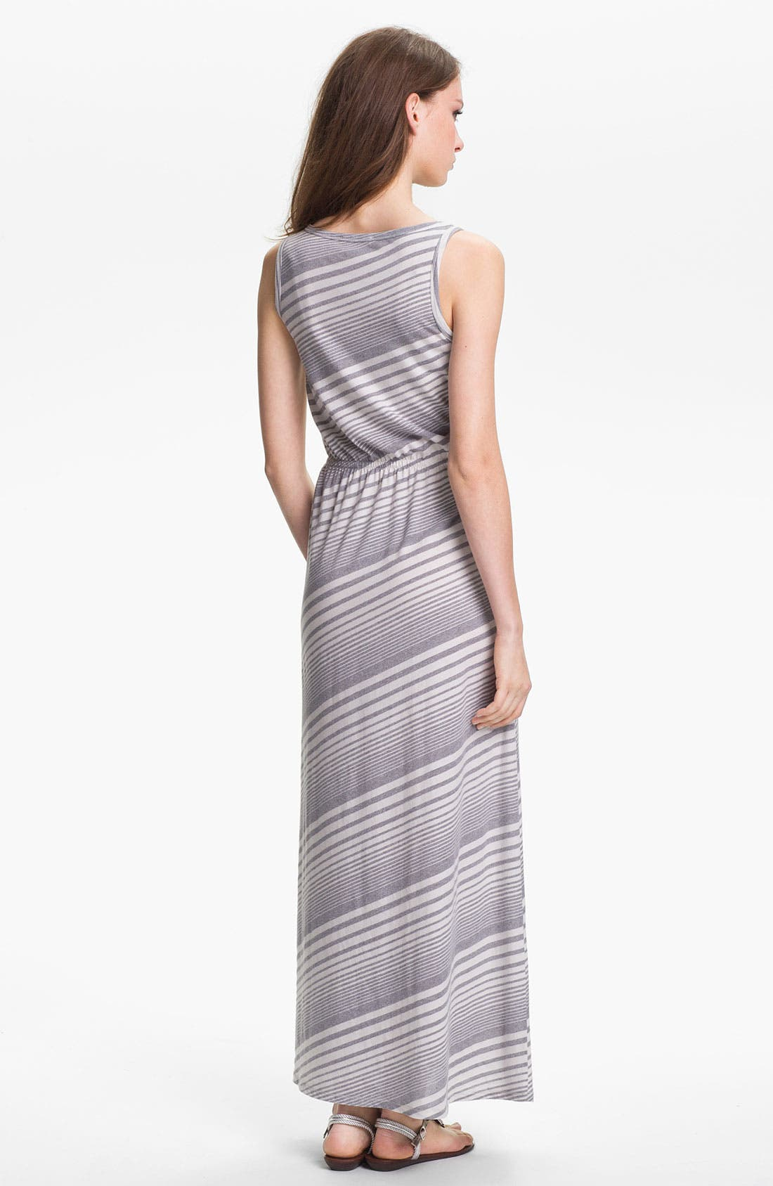 Alternate Image 2  - Two by Vince Camuto Stripe Maxi Dress