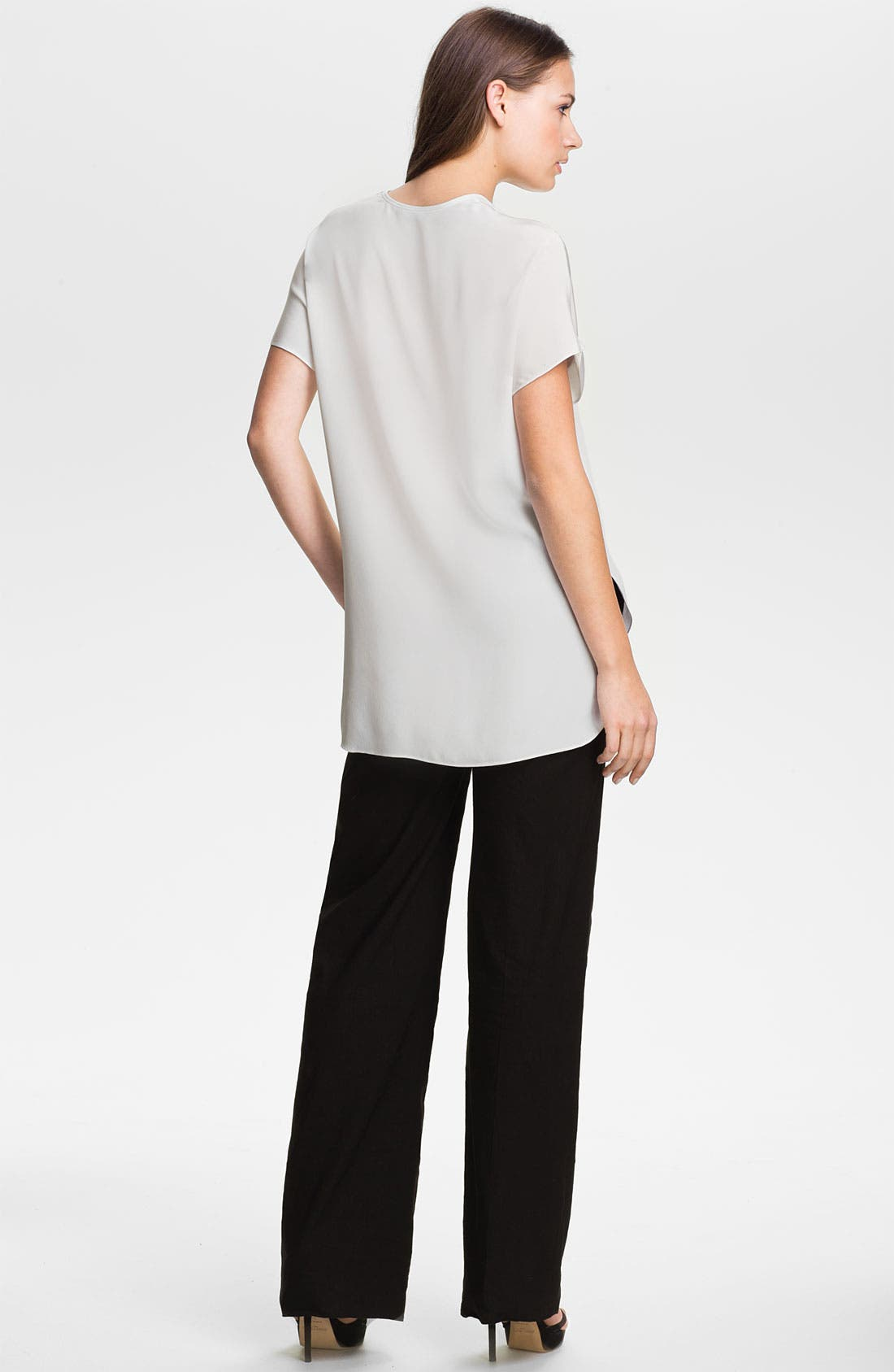 Alternate Image 5  - Vince Linen Wide Leg Trousers