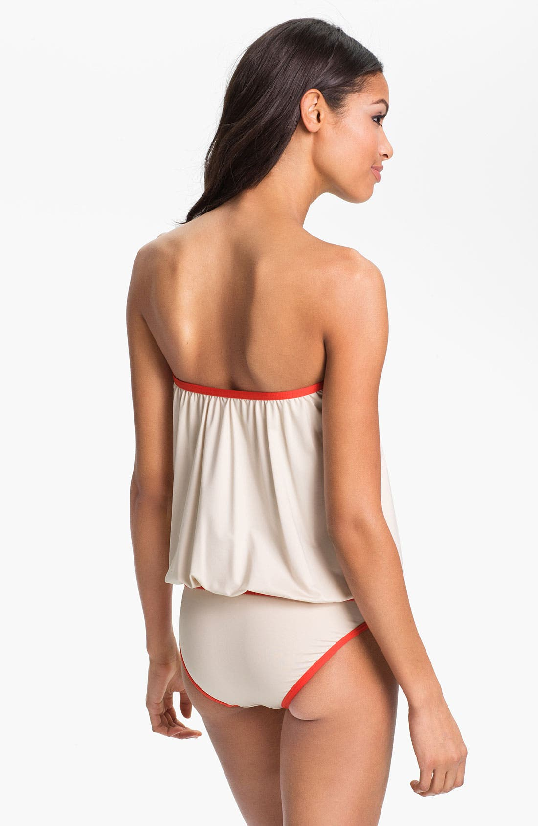 Alternate Image 4  - MARC BY MARC JACOBS Buttoned Blouson Tankini Top