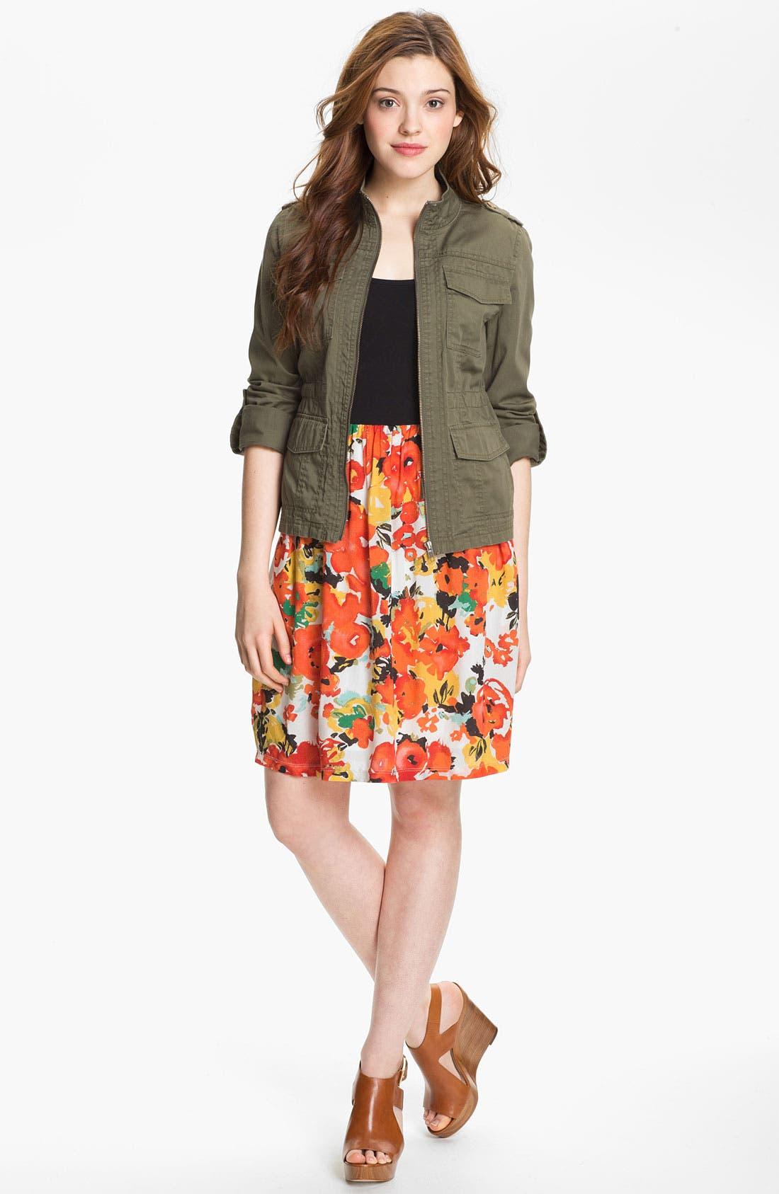 Alternate Image 4  - Caslon® Mixed Media Dress