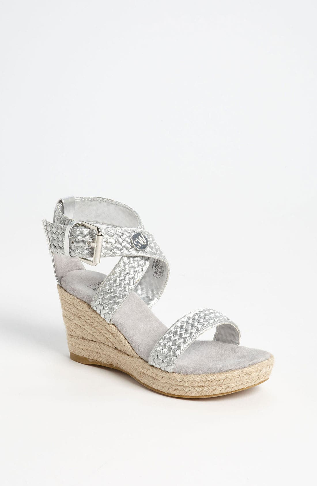 Main Image - Stuart Weitzman 'Swinger 13' Sandal (Little Kid & Big Kid)