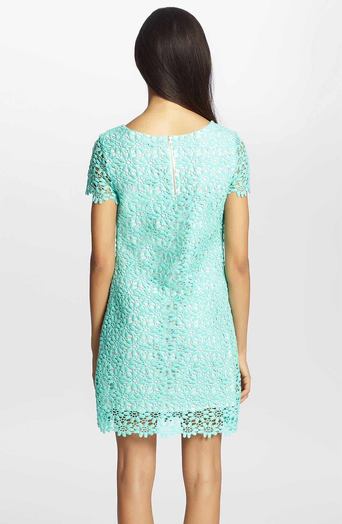 Alternate Image 2  - Cynthia Steffe 'Reese' Lace Sheath Dress