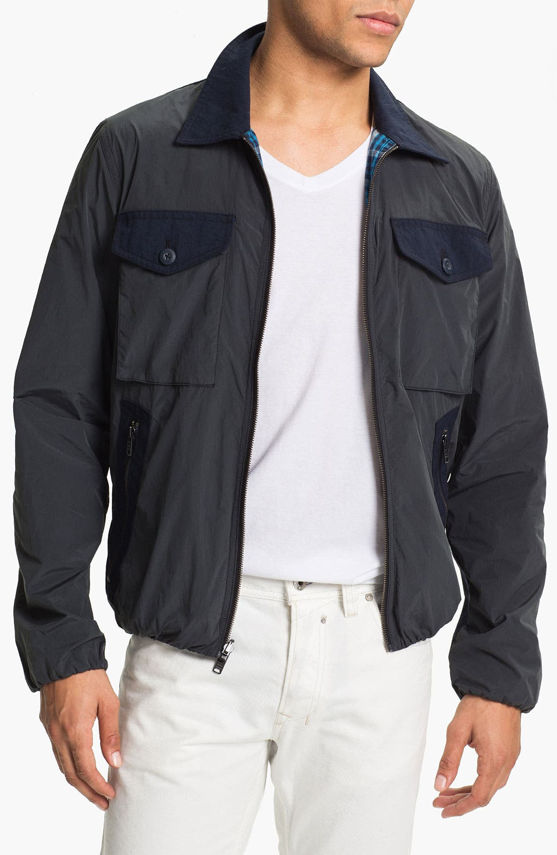 Alternate Image 1 Selected - MARC BY MARC JACOBS 'Nicholson' Reversible Jacket