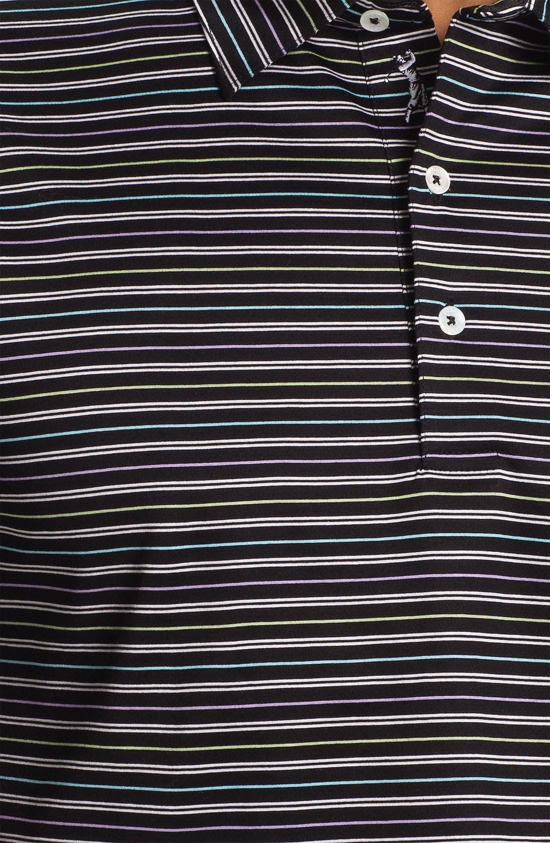 Alternate Image 3  - Bobby Jones 'Tour' Stripe Polo