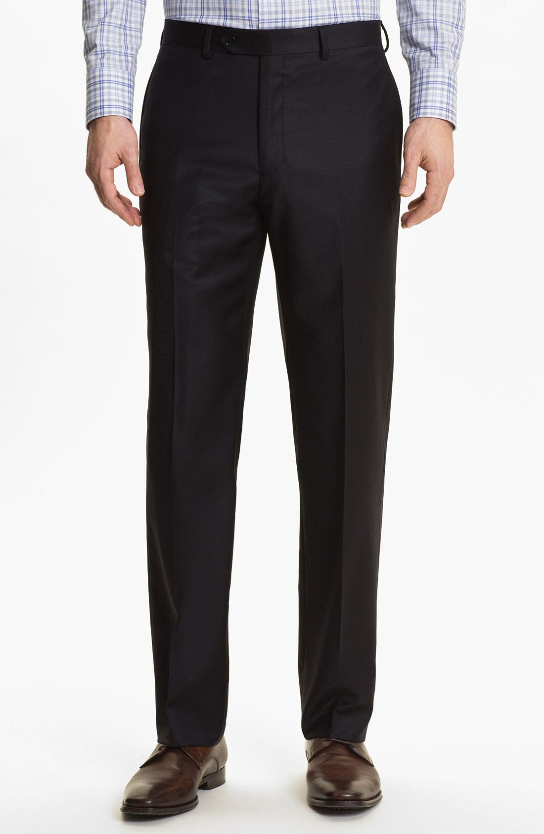 Alternate Image 4  - English Laundry Trim Fit Wool Suit (Online Only)