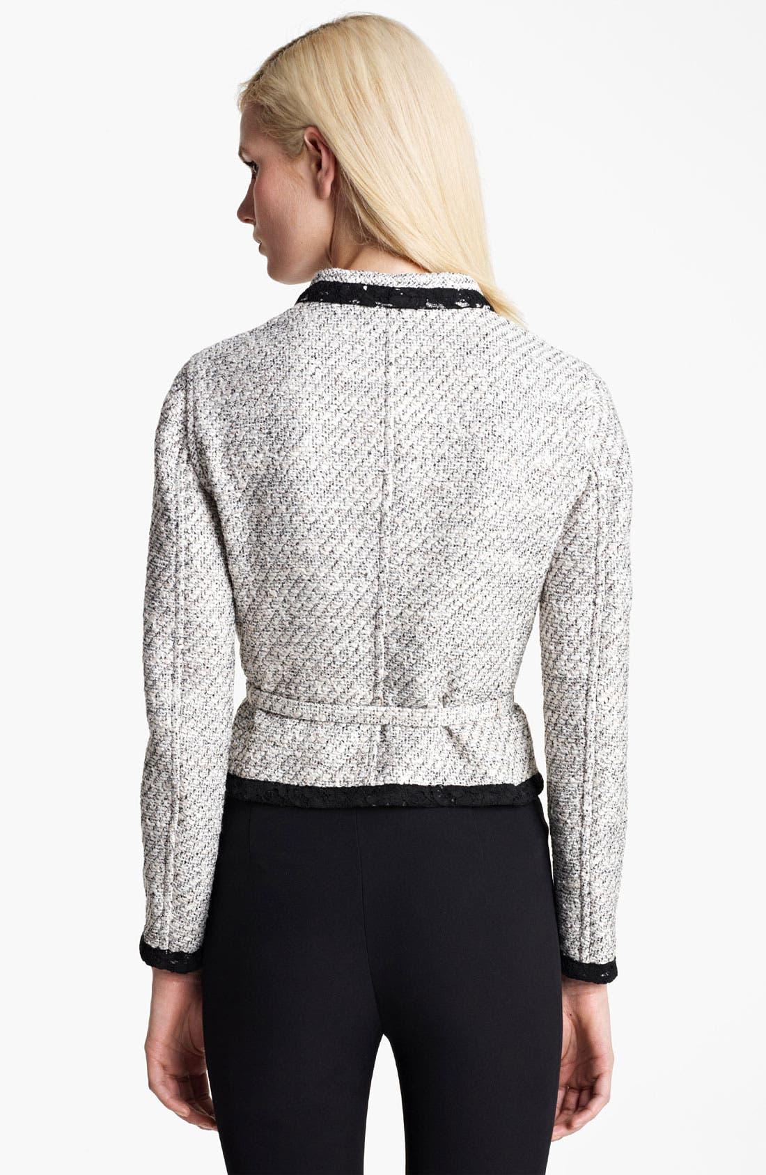 Alternate Image 3  - Valentino Belted Reversible Jacket
