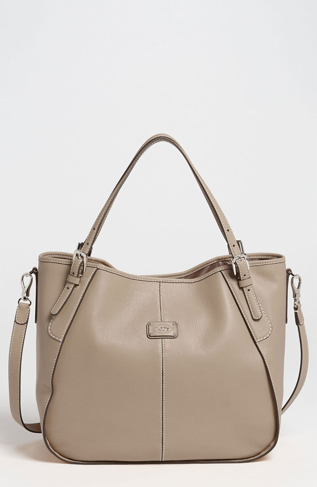 Alternate Image 1 Selected - Tod's 'New G - Medium' Leather Shoulder Bag