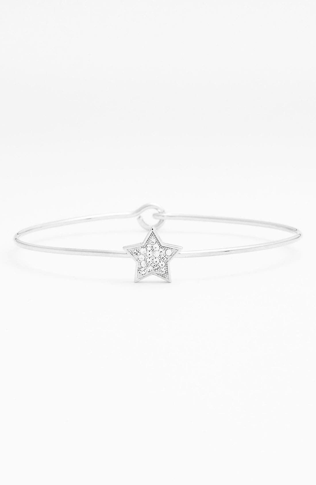 Main Image - Ariella Collection Pavé Station Bangle