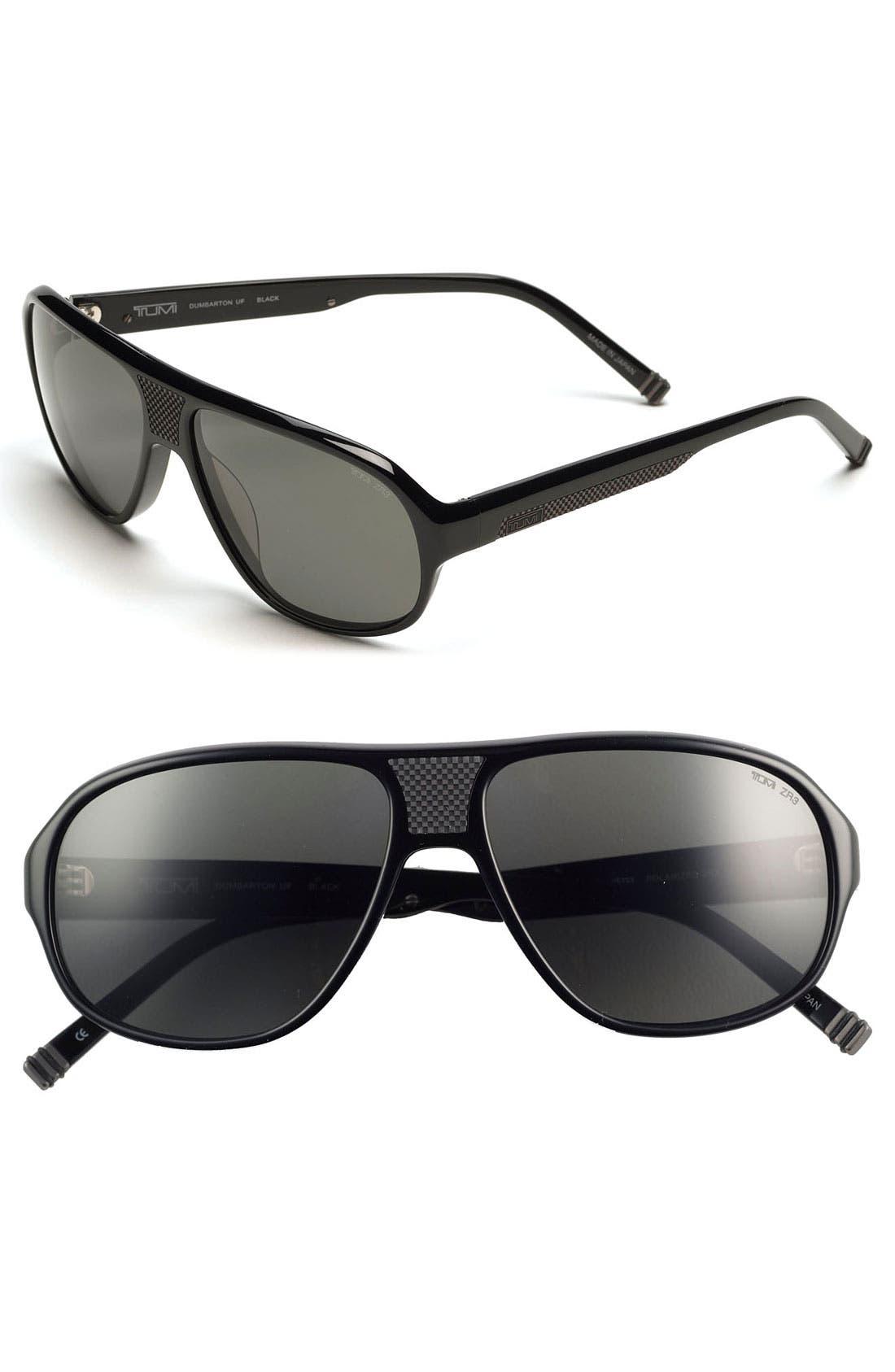 Main Image - Tumi 'Dumbarton' 59mm Sunglasses