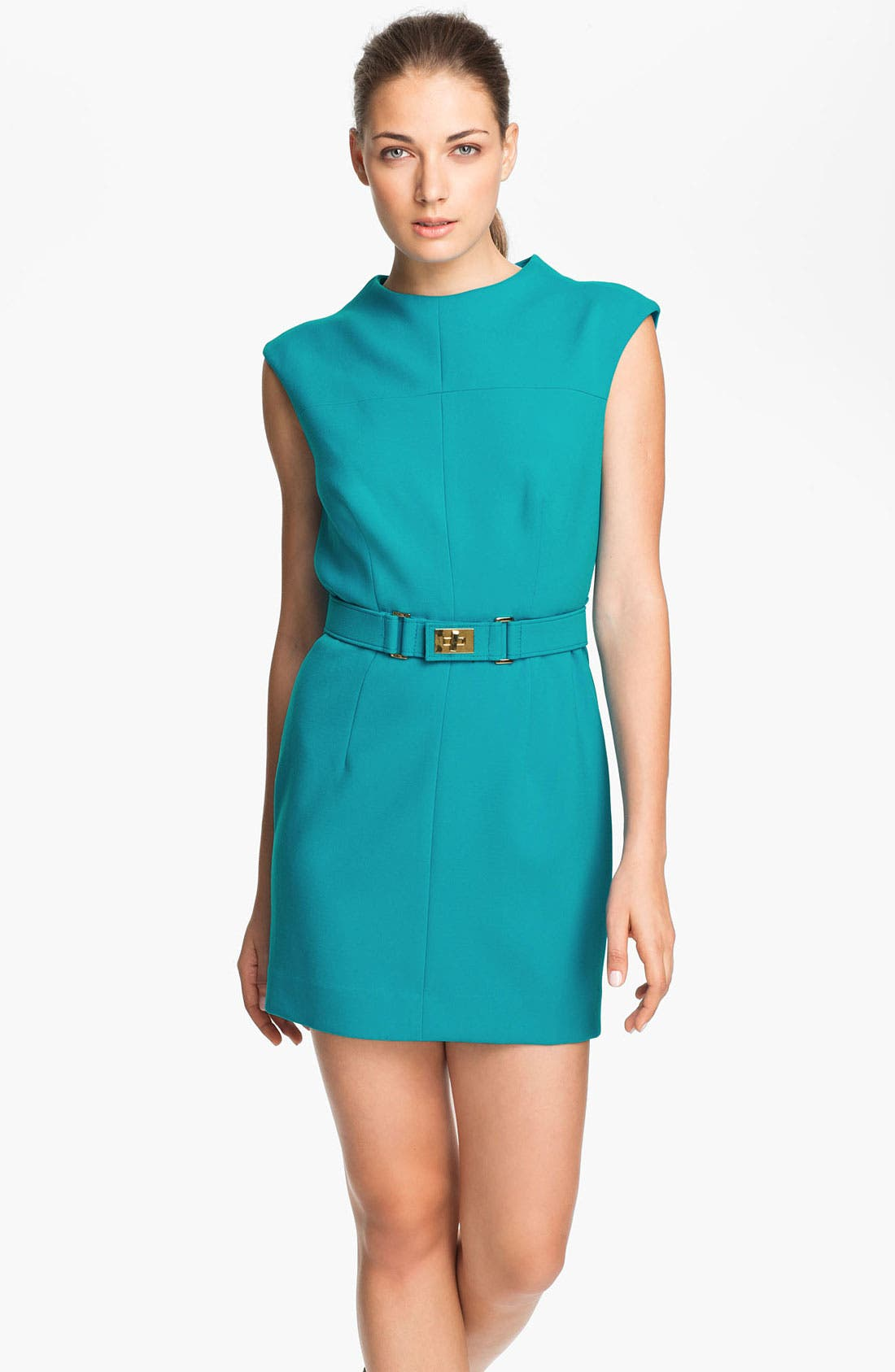Main Image - Milly Belted Sheath Dress