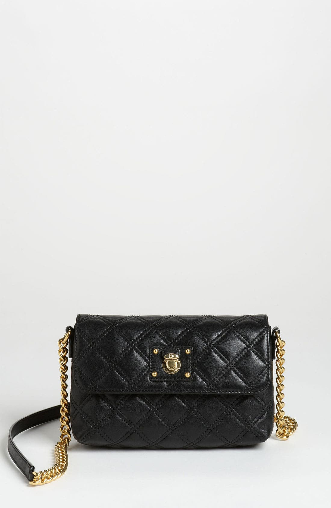 Alternate Image 1 Selected - MARC JACOBS 'Quilting - Single' Leather Shoulder Bag