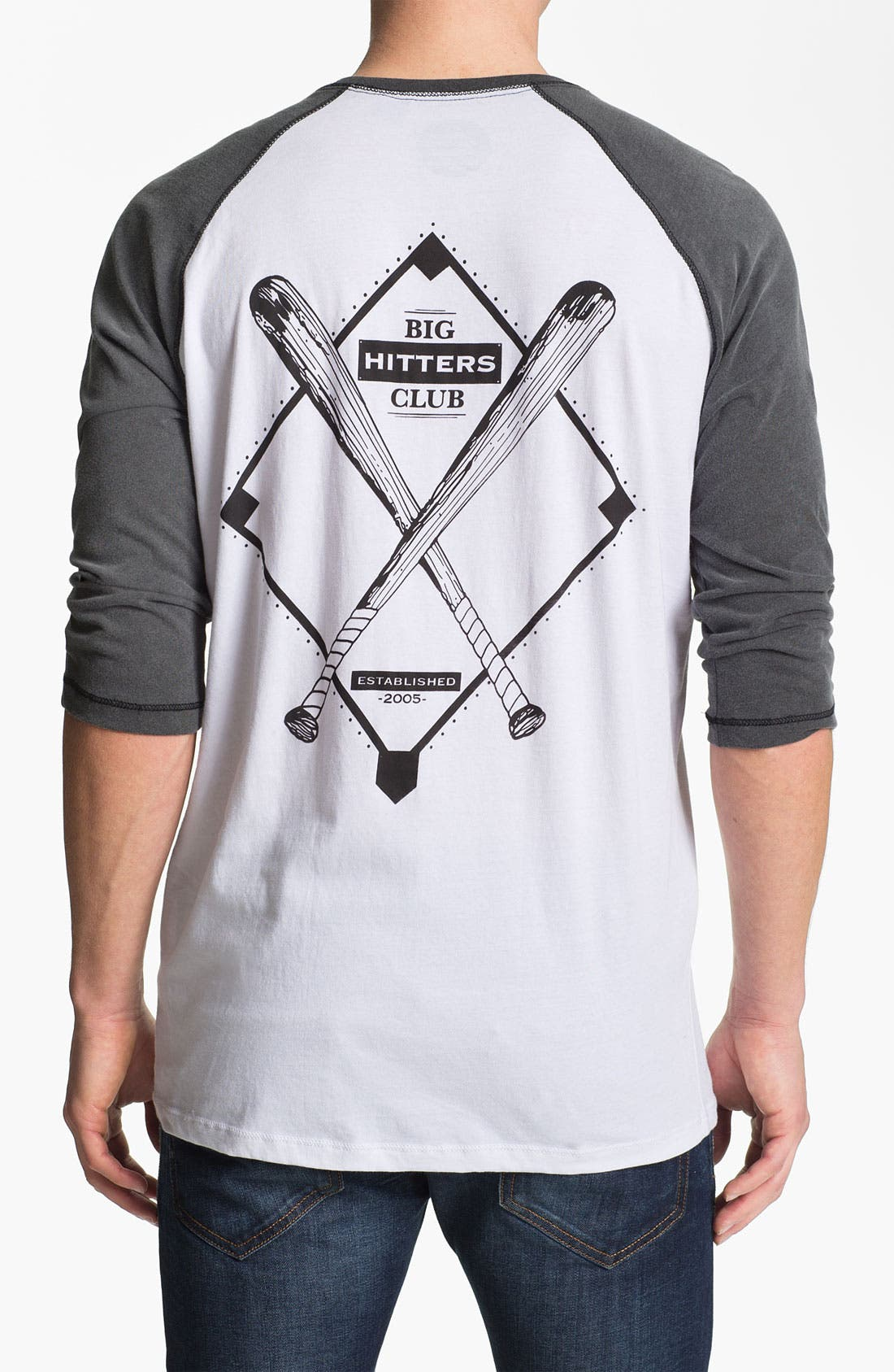 Alternate Image 2  - Vanguard 'Big Hitters Club' Graphic Baseball T-Shirt